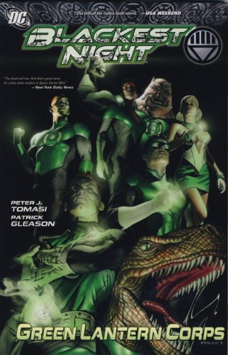 9781848568280: Blackest Night: Green Lantern Corps