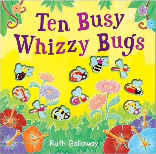 9781848571600: Ten Busy Whizzy Bugs (Moulded Counting Books)