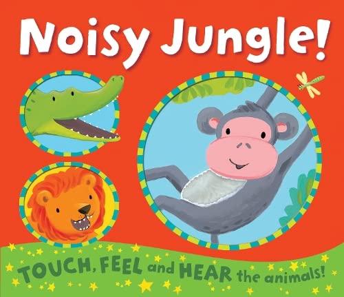 9781848571945: Noisy Jungle! (Noisy Touch-and-Feel Books)