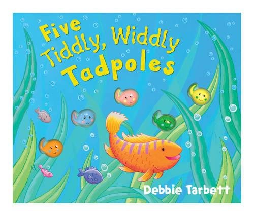 9781848572300: Five Tiddly, Widdly Tadpoles (Mini Moulded Counting Books)