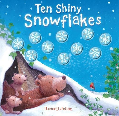 9781848572744: Ten Shiny Snowflakes (Moulded Counting Books)