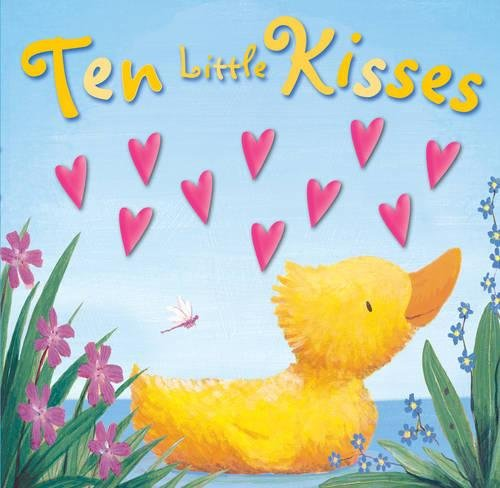 Ten Little Kisses (Moulded Counting Books): Russell Julian