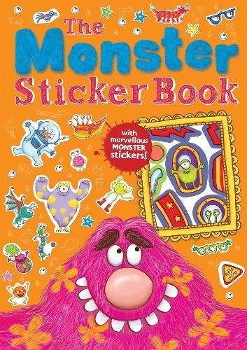 9781848573574: The Monster Sticker Book (Monster Books)