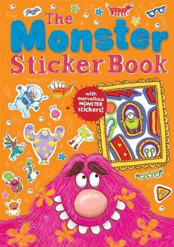 9781848573574: The Monster Sticker Book (Monster Books)