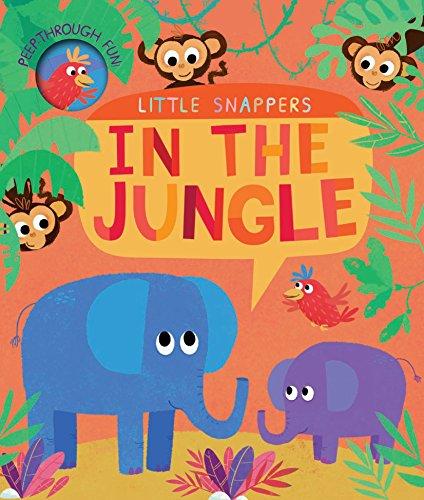 9781848574496: Peek-through Jungle (Little Snappers)