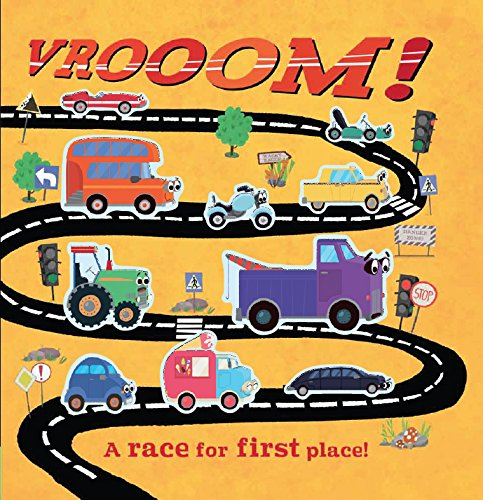 9781848574793: Vrooom!: A race for first place!