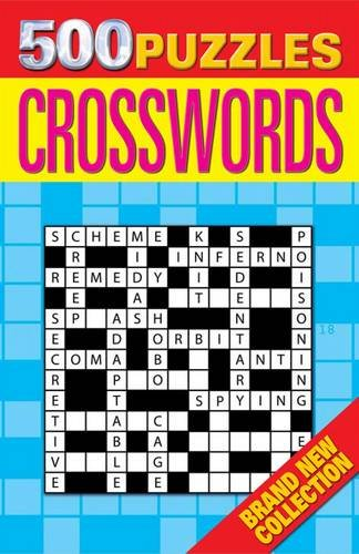 9781848583788: 500 Puzzles: Crosswords