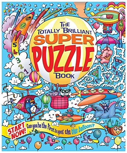 The Totally Brilliant Super Puzzle Book: Regan, Ms. Lisa