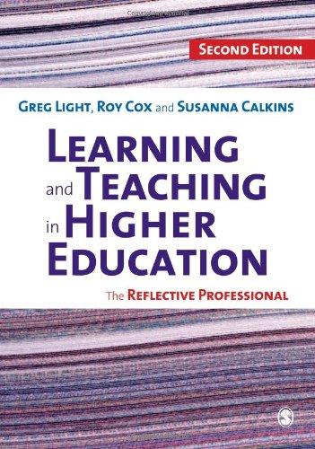 9781848600072: Learning and Teaching in Higher Education: The Reflective Professional