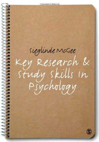 9781848600201: Key Research and Study Skills in Psychology