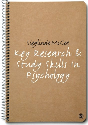 9781848600218: Key Research and Study Skills in Psychology