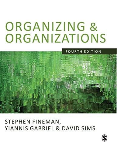 9781848600850: Organizing & Organizations