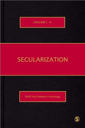 9781848600874: Secularization (SAGE Key Debates in Sociology)