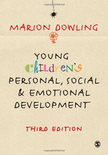 9781848601055: Young Children′s Personal, Social and Emotional Development