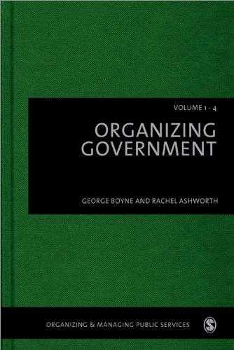 Organizing Government(4 Vol Set)