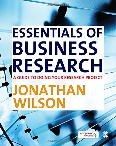 9781848601338: Essentials of Business Research: A Guide to Doing Your Research Project