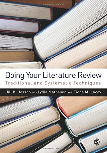 Doing Your Literature Review: Jesson, Jill K.;