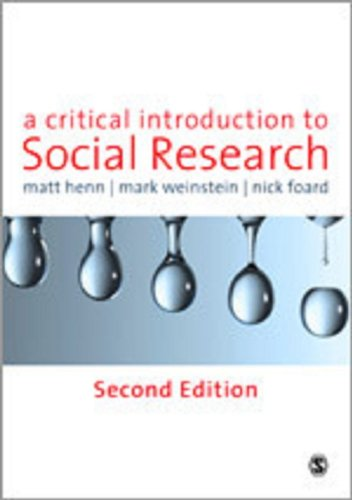 9781848601789: A Critical Introduction to Social Research