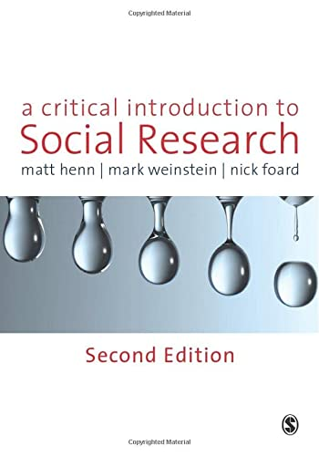 9781848601796: A Critical Introduction to Social Research