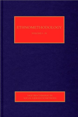9781848604414: Ethnomethodology (SAGE Benchmarks in Social Research Methods)