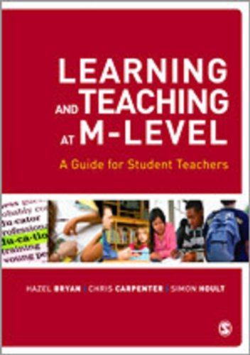 9781848606159: Learning and Teaching at M-Level: A Guide for Student Teachers