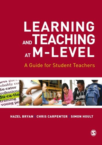 9781848606166: Learning and Teaching at M-Level: A Guide for Student Teachers