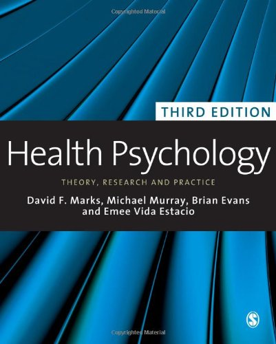 9781848606210: Health Psychology: Theory, Research and Practice