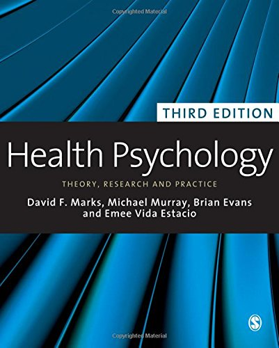 9781848606227: Health Psychology: Theory, Research and Practice