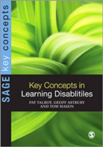 9781848606340: Key Concepts in Learning Disabilities (SAGE Key Concepts series)