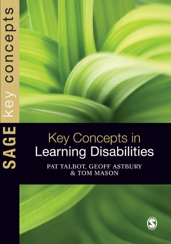 9781848606357: Key Concepts in Learning Disabilities (SAGE Key Concepts Series)