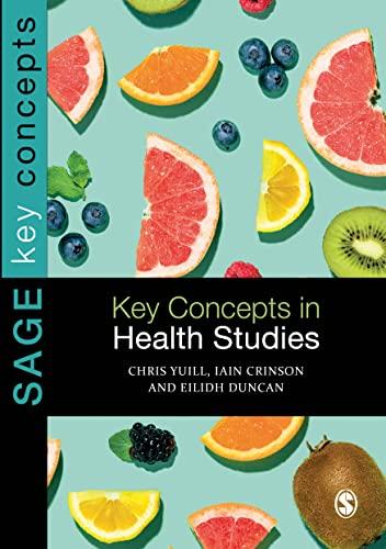 9781848606739: Key Concepts in Health Studies (SAGE Key Concepts series)