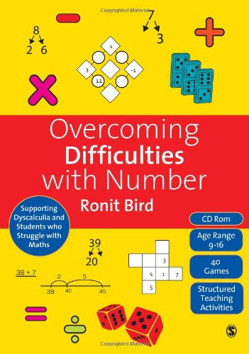 9781848607101: Overcoming Difficulties with Number: Supporting Dyscalculia and Students who Struggle with Maths