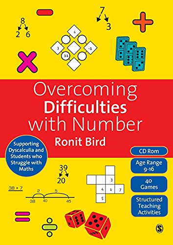 9781848607118: Overcoming Difficulties with Number: Supporting Dyscalculia and Students who Struggle with Maths (Book & CD)