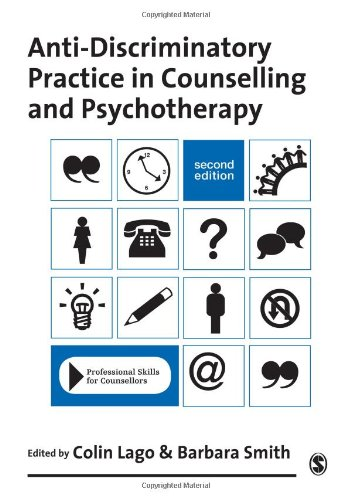 9781848607682: Anti-Discriminatory Practice in Counselling & Psychotherapy (Professional Skills for Counsellors Series)