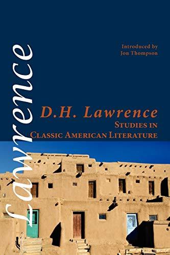 9781848611580: Studies in Classic American Literature (Shearsman Classics)