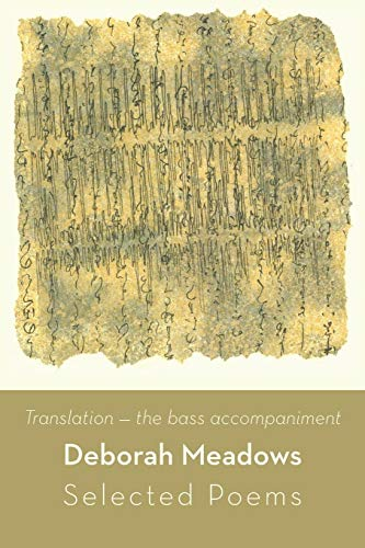 9781848612808: Translation: the bass accompaniment--Selected Poems