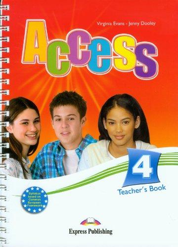 9781848620315: Access 4 Teacher's Book (international)