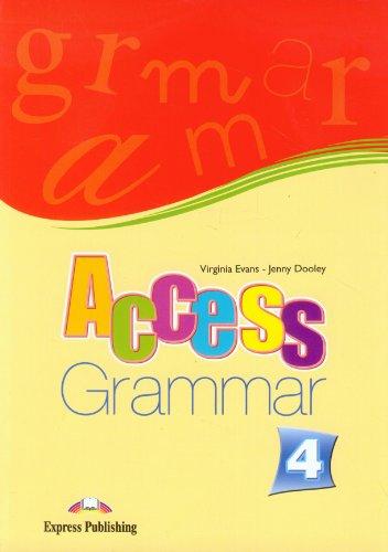 9781848620339: Access 4 Grammar Book (international)