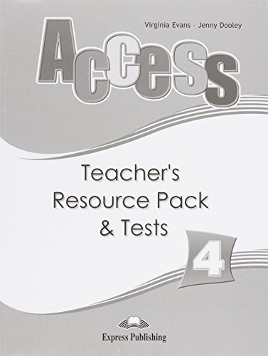 9781848620346: Access 4 Teacher's Resource Pack & Tests