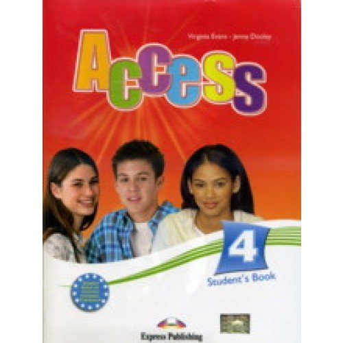 9781848620650: Access 4 Student's Book with Cd