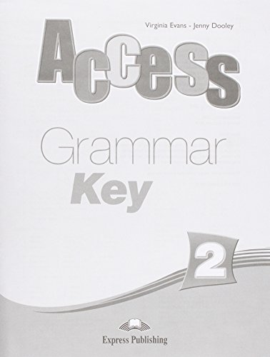 9781848620858: Access 2 Grammar Book Key (international)