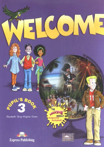 9781848621572: Welcome 3 Pupil's Book