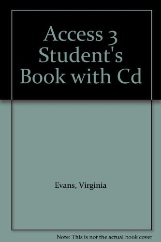 9781848622180: Access 3 Student's Book with Cd