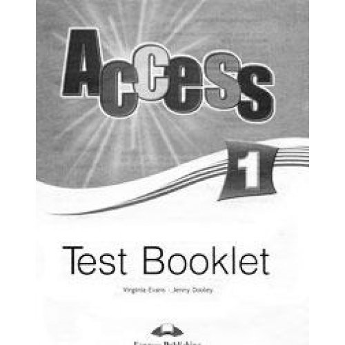 9781848622814: Access 1 Test Booklet (international)