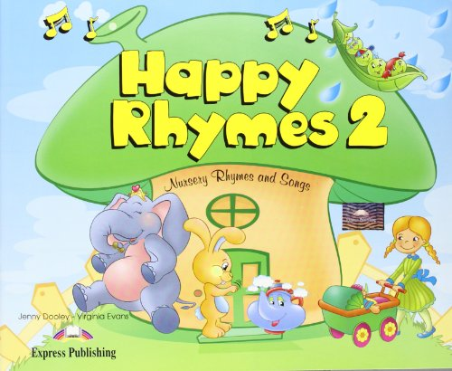 Happy Rhymes 2 Pupil's Pack 2 (CD & DVD Pal) (184862560X) by Dooley, Jenny; Evans, Virginia