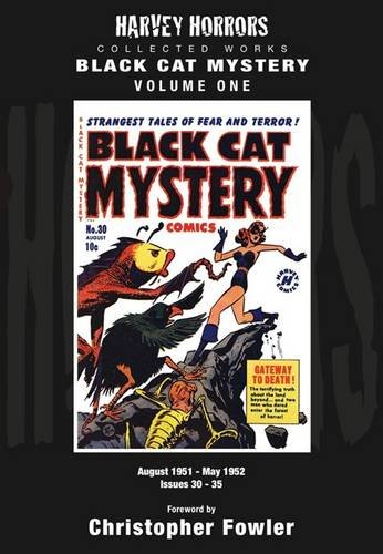 9781848632875: Black Cat Mystery: Volume 1: Harvey Horrors Collected Works