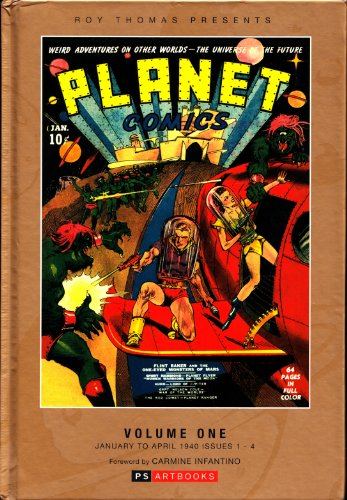 9781848634619: Planet Comics 1940: v. 1: Fiction House Collected Works