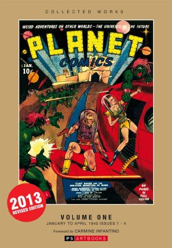 PLANET COMICS VOLUME 1: Infantino, Carmine; et. al.
