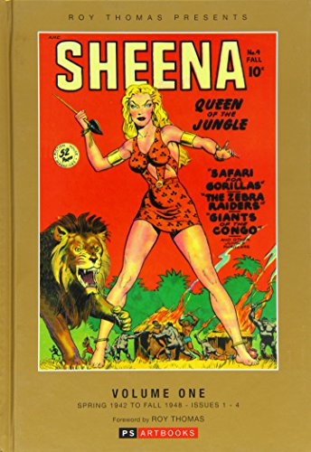 9781848637429: Sheena Queen of the Jungle: Volume 1: Roy Thomas Presents