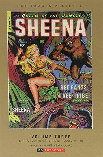 9781848638372: Roy Thomas Presents Sheena Queen of the Jungle Vol. 3
